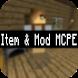 Item & Mod MCPE by jofy