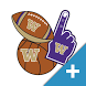 Washington Huskies PLUS Selfie Stickers by 2Thumbz, Inc