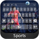Sports Keyboard Theme by Styles Keyboard Forever