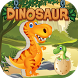 Dinosaurs puzzles for kids by Jirapas Tongthong