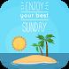 Happy Sunday Gif by Vipulpatel808