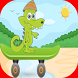 crocodile skater adventure by wexapps