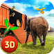 Zoo Animal Transporter Train Driving
