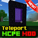 Teleport Mod for Minecraft PE by Gq mods studio