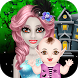 Halloween Mommy & Newborn Baby by Crazybox Studio