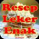 Resep Kue Leker Enak by vrcreative