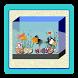 Bentuk Aquarium Meja by sagathoo creative