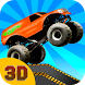 Monster Truck Stunt Race 3D by BrosGames