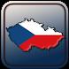 Map of Czech Republic (Czechia) by Creative Star Soft