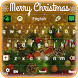 Merry Christmas Keyboard by Luna Themes
