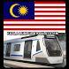 Malaysia Kuala Lumpur Subway by HZ Mobile App