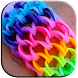 Gummy bracelets by Mirta Lombao