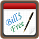 Bills Free - Expense Monitor by RInfoLabS