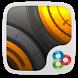 Golden Steel GO Launcher Theme by Freedom Design
