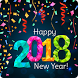 happy new year cards 2018 by Gifs wallpaper hd