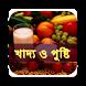 খাদ্য ও পুষ্টি by Ahmeds app