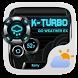 K-Turbo Weather Widget Theme by GO Dev Team X