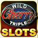 Wild Triple Cherry Slots Free by R&M Studio