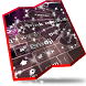Pink moon light Keyboard by Cool emojis themes