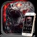 Mechanical lion theme Lock screen