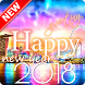 Happy New Year Greeting 2018 by Angle App