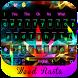 Weed Rasta COLOR NEON keyboard by Bestheme keyboard Creator