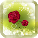 Red rose love wallpaper Free by Romghua Soft