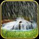 Rain waterfall live wallpaper by MVLTR