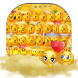 Cute Face Emoji Keyboard Theme by Remote design studio