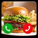 Fake Call Burger Prank by sikasikpitri