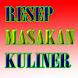 Resep Masakan Kuliner by Mukti Effendi