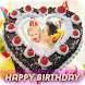 Name Photo on Cake: Birthday Photo Frames by Solo Cell