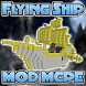 Flying Ship MOD MCPE by WinterXApps