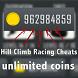 Cheat Hill Climb Racing - prank by Daemonapp.inc