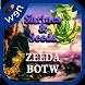Zelda Botw Shrines & Seeds Map by games.scan