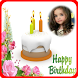 Happy birthday greeting frame by mapleland