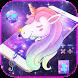 Galaxy Unicorn Dream Theme by AllIn Themes App