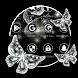 Black Butterfly Business Angel Diamond