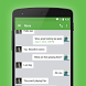 EvolveSMS Theme Green Accents by BORDEN GRAPHICS