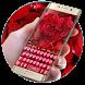 Rose petal keyboard by Echo Keyboard Theme