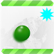 Amazing Green Flying Ball by Putchay93