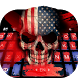 American Skull Keyboard Theme by Pretty keyboard Theme for Android