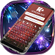 Purplish Fireworks Keyboard