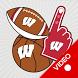 Wisconsin Badgers Selfie Stickers Animated