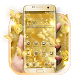 Butterfly Gold Wallpaper by Launcher Love