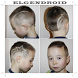 Trendy and Cool Haircut for Little Boy by elgendroid