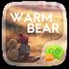 GO SMS WARM BEAR THEME by ZT.art