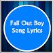 Fall Out Boy Song Lyrics by Doug Grunlo