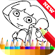 Learn Coloring for dora Fans by ★★★★★ ColorCorp. Coloring Book Games