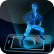 AR Hologram Twerk Dance Girl by Funny App Development